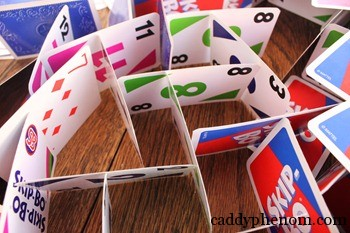 card houses, m and t soccer in backyard 018