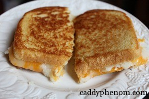 Mashed Potato Grilled Cheese